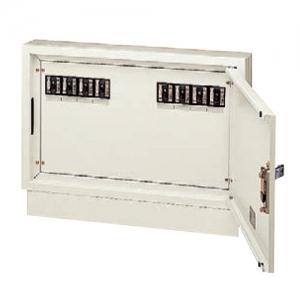 パナソニック 壁面直付/埋込兼用型 電力用接続ボックス 端子台・漏電ブレーカ付 電力線 5芯4条用 8回路 NE02542