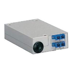 パナソニック 壁面用光スプライスボックス SC2連 ポート数4 NR653204