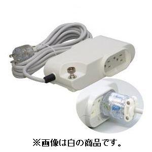 明工社 病院用接地タップ Kタイプ VCTケーブル3m ランプ付 医用接地プラグ付 赤 MR7360TD3R