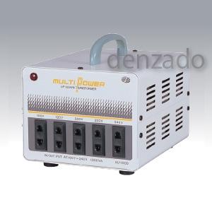 日動工業 海外用トランス 平ピンA2/丸ピンC2 AC100V~240V 1KVA SU-1000
