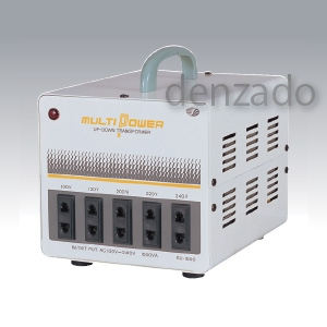 平ピンA2/丸ピンC2 SU-1500 AC100V~240V 海外用トランス 1.5KVA 日動工業
