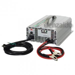 日動工業 全自動バッテリーチャージャー 12V~48V兼用 短絡保護 逆接続保護 温度保護 ANB-1248V