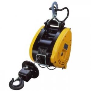 リョービ ウインチ コードタイプ 吊下型 最大吊揚荷重130kg ワイヤーφ5mm×21m付 WI-12521