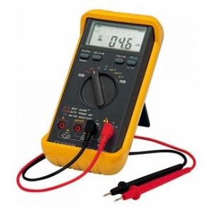 カスタム デジタルマルチメータ 測定機能(直流・交流電圧、直流・交流電流、交流・直流電流mA、抵抗、導通チェック、ダイオードテスト) CDM-2000D