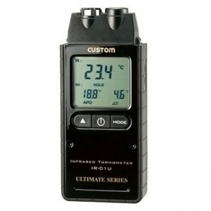 カスタム 赤外線放射温度計 距離:測定径=60cm:φ10cm IR-01U