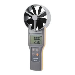 カスタム デジタル風速/風量計 大型ベーン式 WS-05