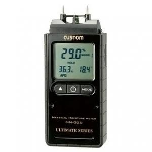 カスタム デジタル水分計 温湿度機能付 MM-02U