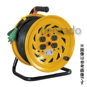 日動工業 100V 一般型ドラム アース付 接地 2P 15A 125V コンセント数:4 長さ30m VCT2.0×3 NF-E34