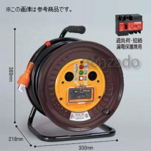 日動工業 三相200V 一般型ドラム 屋内型 アース無 φ35 3P 20A 250V コンセント数:3 長さ30m SVCT3.5×3 ND-330F-20A