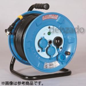 日動工業 防雨・防塵型ドラム 屋外型 アース無 2P 15A 125V コンセント数:3 長さ30m VCT2.0×2 NPW-303