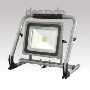日動工業 マルチ床スタンド LED50W 光束:5000lm 色温度5000K 照度:1850lx 防雨型 LEN-50MS