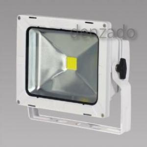 日動工業 LEDエコナイター 防雨型 30W(レフ球300W相当) 色温度3000K 本体色:白 LEN-30D-ES-WS