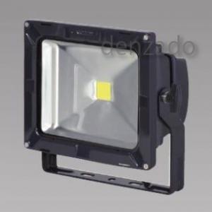 日動工業 LEDエコナイター 防雨型 30W(レフ球300W相当) 色温度3000K 本体色:黒 LEN-30D-ES-DBS