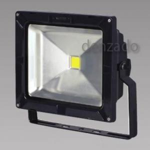 日動工業 LEDエコナイター 防雨型 50W(レフ球300Wの2倍相当) 色温度3000K 本体色:黒 LEN-50D-ES-DBS