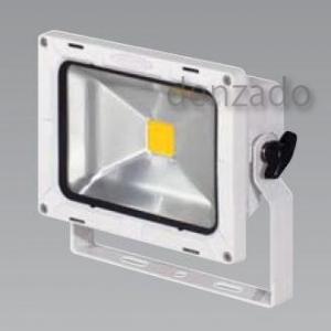【受注生産品】 日動工業 LEDエコナイター 防雨型 20W(レフ球200W相当) 色温度3000K 本体色:白 LEN-20D-ES-WS