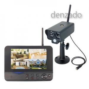 日動工業 モニタリングカメラ 防雨型(カメラのみ) 最大送受信距離300m WSC-W03MO-1P