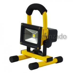日動工業 チャージライト バッテリー式 LED10W 光束:900lm 照度:245lx 防雨型 BAT-10W-L1PS-Y