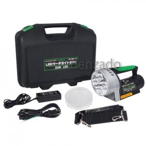 日動工業 LEDサーチライト 24W 防雨型 充電池式 LEDL-24W