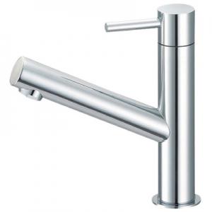 三栄水栓製作所 立水栓 節水水栓 セラミック水栓 洗面所用 定流量機能付 泡沫吐水 吐水口高さ:98mm column Y5075H-13