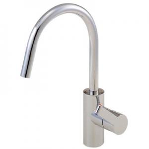 三栄水栓製作所 シングルワンホール混合栓 節水水栓 キッチン用 泡沫吐水 寒冷地用 column K8751JK
