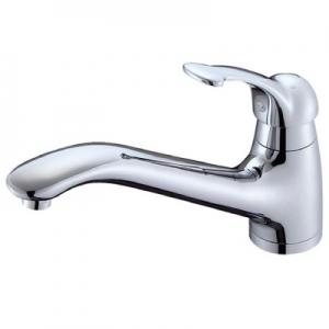三栄水栓製作所 シングルワンホール混合栓 節水水栓 キッチン用 泡沫吐水 Kiwitap K87710JV