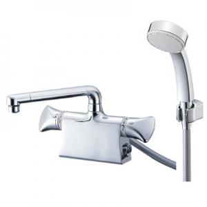 三栄水栓製作所 サーモデッキシャワー混合栓 節水水栓 浴室用 断熱仕様 取付芯ピッチ:102mm U-MIX SK7801DS9