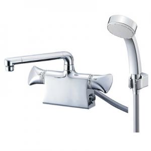 三栄水栓製作所 サーモデッキシャワー混合栓 節水水栓 浴室用 断熱仕様 取付芯ピッチ:85mm U-MIX SK78010DS9