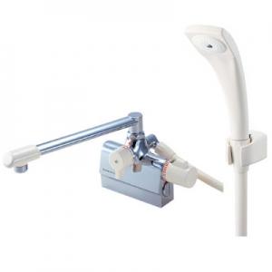 三栄水栓製作所 サーモデッキシャワー混合栓 節水水栓 浴室用 取付芯ピッチ:85mm 寒冷地用 E-MIX SK7800DK