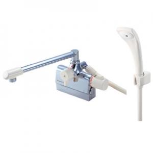 三栄水栓製作所 サーモデッキシャワー混合栓 節水水栓 浴室用 取付芯ピッチ:120mm E-MIX SK780D