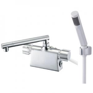 三栄水栓製作所 サーモデッキシャワー混合栓 節水水栓 浴室用 断熱仕様 取付芯ピッチ:102mm column SK785D
