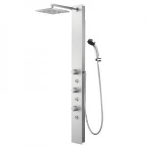三栄水栓製作所 パネルサーモシャワー混合栓 節水水栓 壁付混合栓 浴室用 断熱仕様 roffine SK9880