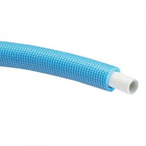 三栄水栓製作所 保温材付アルミ複合架橋ポリエチレン管(TYPE X) 給水用 50m巻き 保温材厚:5mm 呼び:20A 青 ALMIX(アルミックス) T102-2-20A-5-B