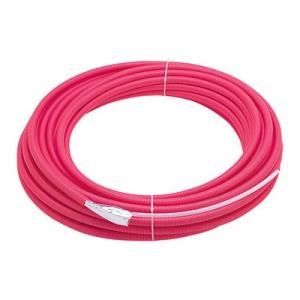 三栄水栓製作所 トリプル管 消音テープ付 集合住宅用 給湯用 50m巻き 呼び:13A 赤 T100NT-3-13A-25-R