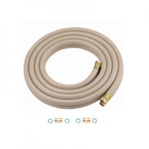 三栄水栓製作所 ペアホース 循環金具用 バスルーム用 追焚付給湯器と一口循環接続金具の配管用 長さ(mm):5000 T42S-13X5000