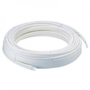 三栄水栓製作所 保温材付ペア樹脂管 バスルーム用 追焚付給湯器と一口循環接続金具の配管用 外径13mm T421R-862-10A