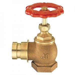三栄水栓製作所 差込90°消火栓 圧力0.5MPa用 呼び:65 V19-65