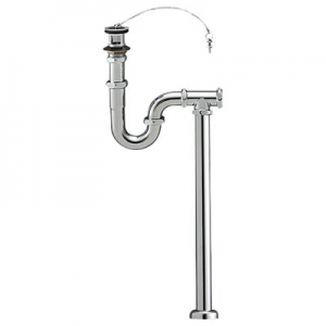 三栄水栓製作所 S・P兼用トラップ 洗面用品 オーバーフロー用 床排水・壁排水兼用 アジャスト付 排水栓外径:68mm H7010-38