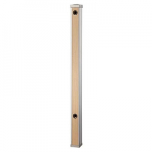 三栄水栓製作所 木目調水栓柱 ガーデニング 高さ:900mm 前面木目調ライトブラウン T803-60X900-LBR