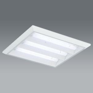 遠藤照明 LEDスクエアベースライト 《LEDZ TWIN TUBEシリーズ》 直付タイプ 下面開放形 6900lmタイプ FHP32W×4灯器具相当 昼白色 専用モジュール×3本セット 非調光タイプ ERK9909W+RA-659NB*3
