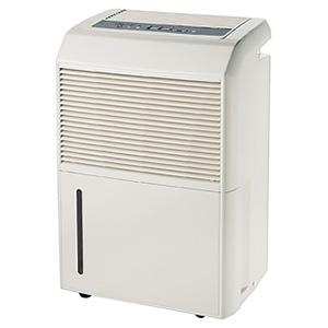 ナカトミ コンプレッサー式除湿機 単相100V 風量2段階切替(弱・強) 湿度調節・タイマー機能付 DM-10