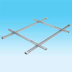 オーケー器材 リ・アルハンガー エアコン室内機更新用吊金具キット レールスライド方式 既存吊ボルトピッチ~1515mm 室内機吊ピッチ~1385mm K-FS1514A