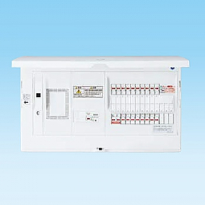 パナソニック LAN通信型 住宅分電盤 標準タイプ リミッタースペース付 露出・半埋込両用形 回路数10+回路スペース3 《スマートコスモコンパクト21》 BHH37103