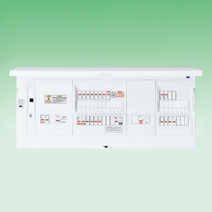パナソニック LAN通信型 HEMS対応住宅分電盤 《スマートコスモ コンパクト21》 太陽光発電システム・電気温水器・IH・蓄熱暖房器(主幹・分岐)対応 リミッタースペースなし 回路数:一般24/蓄熱5+回路スペース数:一般2/蓄熱5 BHH8424FT15