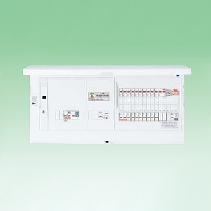 パナソニック LAN通信型 HEMS対応住宅分電盤 《スマートコスモ コンパクト21》 太陽光発電システム・蓄熱暖房器(40A)・エコキュート(20A)・IH対応 リミッタースペースなし 主幹容量50A 回路数28+回路スペース数2 BHH85282S24