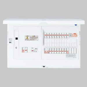 パナソニック AiSEG通信型 住宅分電盤 電気温水器・IH対応 ブレーカ容量40A リミッタースペースなし 主幹容量75A 《スマートコスモ コンパクト21》 BHN87383T4