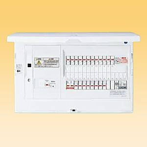 パナソニック AiSEG通信型 住宅分電盤 地震かみなりあんしんばん あんしん機能付 リミッタースペースなし 露出・半埋込両用形 回路数36+回路スペース2 《スマートコスモ コンパクト21》 BHN810362ZR