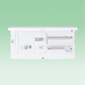 パナソニック レディ型 創エネ対応 住宅分電盤 太陽光発電システム・蓄熱暖房器(50A)・エコキュート(30A)・電気温水器(30A)・IH対応 リミッタースペースなし 主幹容量50A 回路数24+回路スペース数2 《スマートコスモ コンパクト21》 BHS85242S35