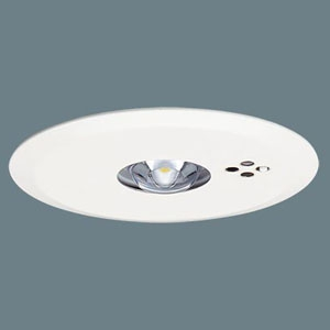 パナソニック LED非常用照明器具 断熱・遮音施工用 天井埋込型 低天井用(~3m) 30分間タイプ リモコン自己点検機能付 埋込穴φ100 昼白色 NNFB91405