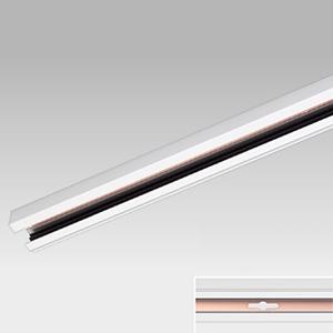 東芝 【ケース販売特価 10本セット】 接地極付ライティングレール Ⅵ形 長さ1m 白 NDR0211E_set