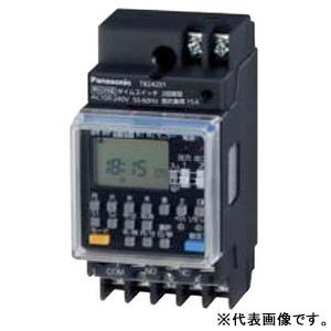 パナソニック 年間式タイムスイッチ JIS協約型 2P TB24101 1回路型 電子式 完売 毎日続々入荷